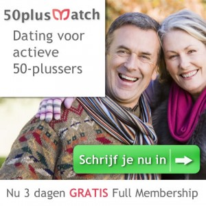 50plusmatch 3 dagen gratis